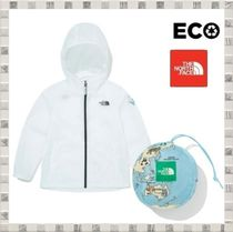 THE NORTH FACE 韓国 K'S GREEN EARTH JACKET 手提げ付 ナイロン