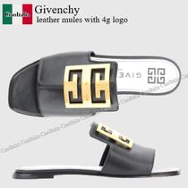 Givenchy leather mules with 4g logo