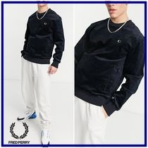 ☆Fred Perry☆wovenコーデュロイトレーナー Navy 関税・送料込
