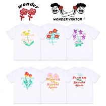 ★WONDER VISITOR★FLOWER WILL BLOOM AGAIN T-SHIRTS