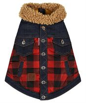 D SQUARED2(ディースクエアード) ペット(犬猫)服 Dsquared2 VEP000116803639 D2 x POLDO CHECK COLLARED Dog vest