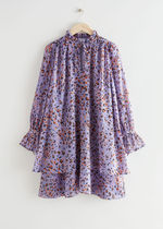 """""""& Other Stories""""新作☆Flounced Tiered A-Line Mini Dress"""