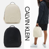 UK発★CALVIN KLEIN 'SMALL ROUND BACKPACK'
