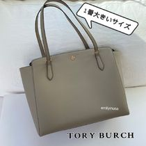 完売色 TORY BURCH★EMERSON TOP ZIP TOTE ラージ