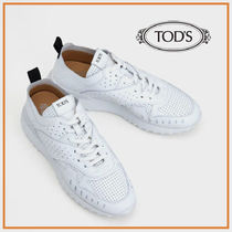TOD'S☆SNEAKERS IN LEATHER レディースレザースニーカー☆送込