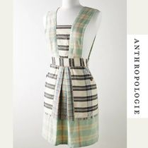 【Anthropologie】Kelby Mixed Plaid Apron エプロン 59874719