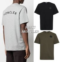 21SS【MONCLER】バックレタリングロゴ&ロゴワッペンTシャツ