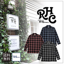 【送料無料】Ron HermanロンハーマンRHC Ombre Check Work Shirt