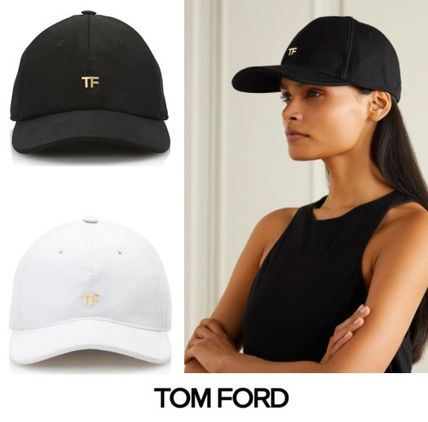 TOM FORD COTTON CANVAS キャップ 2色