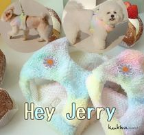 【Hey Jerry】Pastel Cotton Candy Harness S~Lサイズ ハーネス
