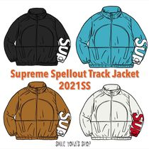 ★21SS WEEK1★Supreme Spellout Track Jacket