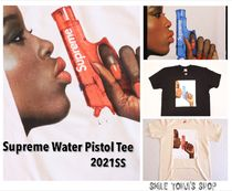 ★21SS WEEK1★Supreme Water Pistol Tee
