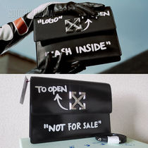 """OFF-WHITE JITNEY 1.0 """"NOT FOR SALE""""クロスボディバッグ"""