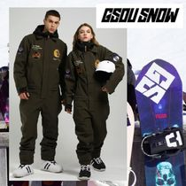 【Gsou Snow】 Waterproof One Piece Snowboard Suits