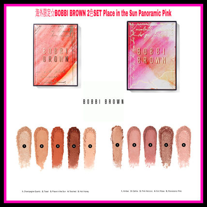 海外限定☆BOBBI BROWN 2色SET Place in the Sun Panoramic Pink