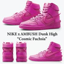 Nike x AMBUSH Dunk High - Cosmic Fuchsia