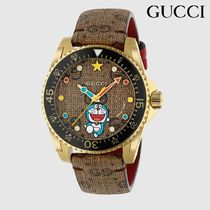 GUCCI - Doraemon x Gucci Dive watch, 40mm