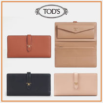 TOD'S☆PURSE IN LEATHER☆レザーウォレット☆長財布☆送料込