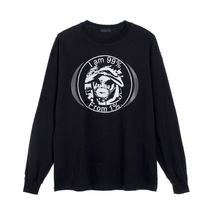 99 PERCENT IS(ナインティナインパーセント) Tシャツ・カットソー ◇99%IS◇ロゴ◇'OUR FA1%TH' LONG SLEEVE◇