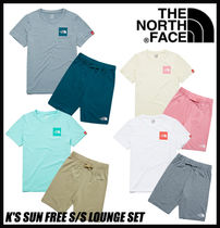 【THE NORTH FACE】K'S SUN FREE S/S LOUNGE SET