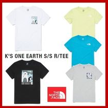 [THE NORTH FACE] K'S ONE EARTH S/S R/TEE★大人気★