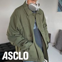 ASCLO Overfit Chino Washing Field Jacket (2color)