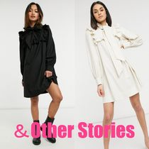 *&Other Stories*  リボンフリルミニドレス〔関税・送料込〕