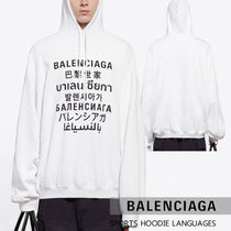 【BALENCIAGA】21SS LANGUAGES スポーツフーディー