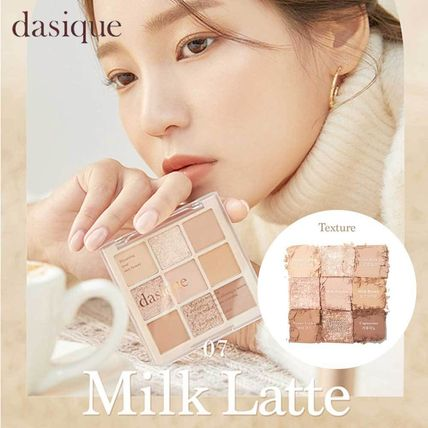 ●DASIQUE● SHADOW PALETTE 07 MILK LATTE 新作 大人気