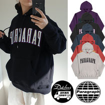 Paragraph(パラグラフ) パーカー・フーディ paragraph Lettering Point Embroidery Hoodie NE2726 追跡付