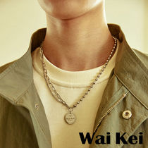 Wai Kei(ワイケイ) ネックレス・チョーカー ★Wai Kei★送料込み★韓国★人気 Hi Steady chain mix Necklace
