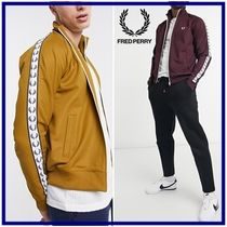 ☆Fred Perry☆テープロゴ トラックジャケット 関税・送料込