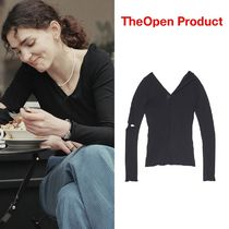 【TheOpen Product】21ss TWISTED DETAIL REVERSIBLE BLOUSE TOP
