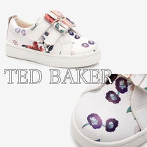 TED BAKER(テッドベーカー) キッズスニーカー Baker by Ted Baker* フローラルベルクロ スニーカー 送関込