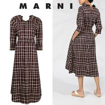 ★関税送料込【MARNI】Cotton shirt dress