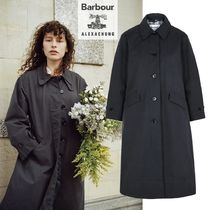 Barbour(バブアー) コート 国内発| Barbour by ALEXACHUNG  Julie ギャバジンコート Navy
