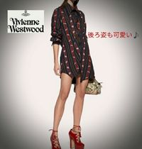 ★Vivienne Westwood Chaosシャツワンピ/クリッシーストライプ★