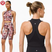 lululemon☆カップ付タンク☆Everlux and Mesh Cropped Tank