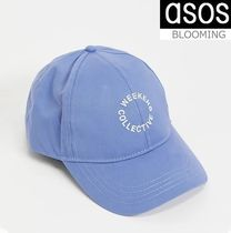 ASOS*Weekend Collective ロゴ ベースボール キャップ 送料込み