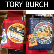 Tory Burch(トリーバーチ) パスポートケース・ウォレット Outlet買付【Tory Burch】  Perry Travel Patches Passport Case
