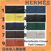Hermes☆Portefeuille Citizen Twill Compact☆DHL送料込