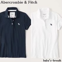 Abercrombie & Fitch(アバクロ) ポロシャツ 関送料込 Abercrombie & Fitch 半袖アイコンポロ /2色