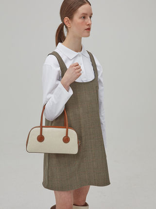 MARGE SHERWOOD トートバッグ 500円追加割引[Margesherwood]/21SS BESSETTE TOTE/ BROWN(8)