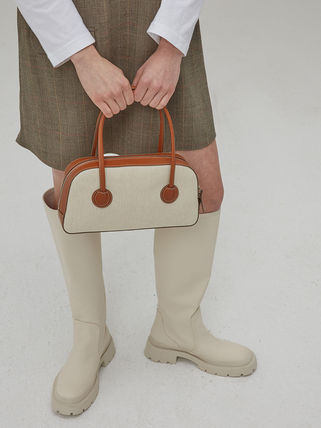 MARGE SHERWOOD トートバッグ 500円追加割引[Margesherwood]/21SS BESSETTE TOTE/ BROWN(7)