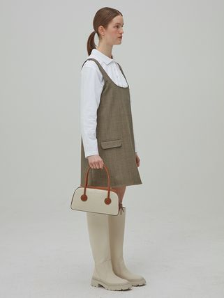 MARGE SHERWOOD トートバッグ 500円追加割引[Margesherwood]/21SS BESSETTE TOTE/ BROWN(10)