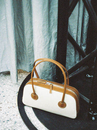 MARGE SHERWOOD トートバッグ 500円追加割引[Margesherwood]/21SS BESSETTE TOTE/ BROWN(11)