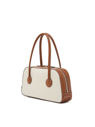MARGE SHERWOOD トートバッグ 500円追加割引[Margesherwood]/21SS BESSETTE TOTE/ BROWN(12)