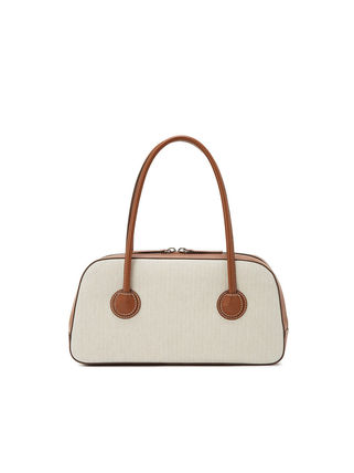 MARGE SHERWOOD トートバッグ 500円追加割引[Margesherwood]/21SS BESSETTE TOTE/ BROWN(13)