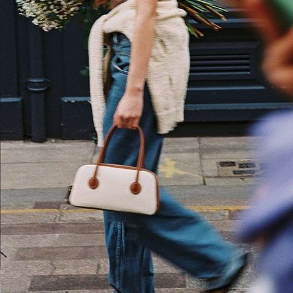 MARGE SHERWOOD トートバッグ 500円追加割引[Margesherwood]/21SS BESSETTE TOTE/ BROWN
