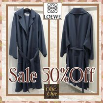 SALE 50%OFF!! LOEWE OVER SIZE BELTED COAT
